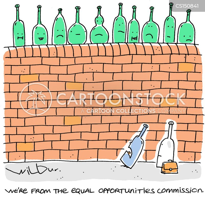 equal opportunities commissions cartoon
