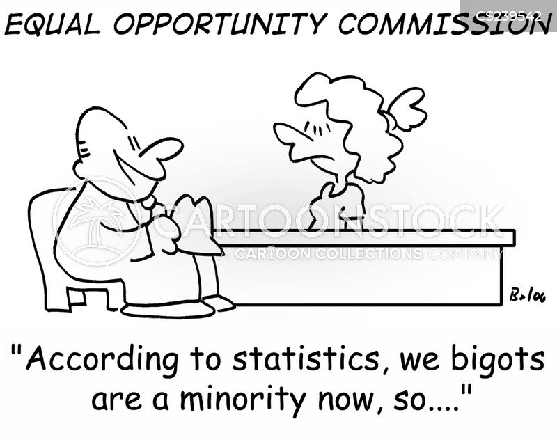 minority cartoon