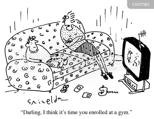 obesity levels cartoon