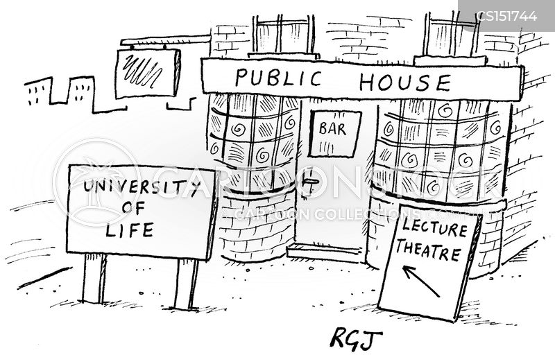 university of life cartoon