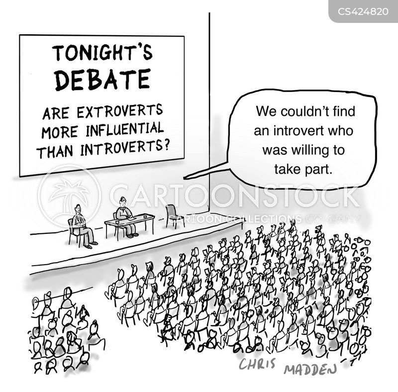 debator cartoon