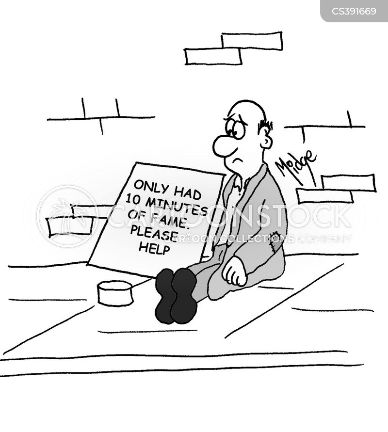 famous for 15 minutes cartoon