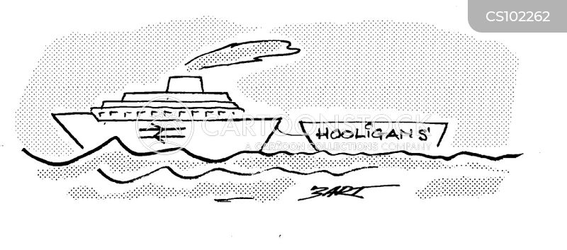ferries cartoon