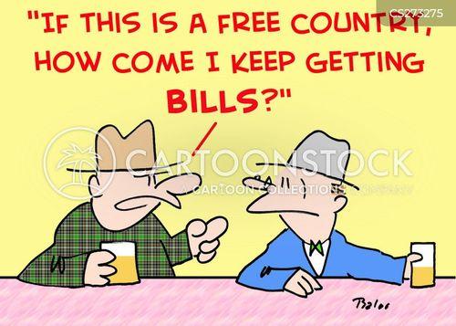 free country cartoon