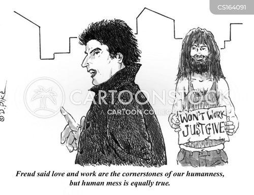 humanness cartoon