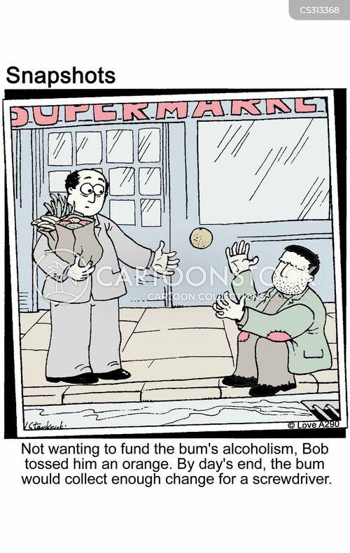 ragged cartoon