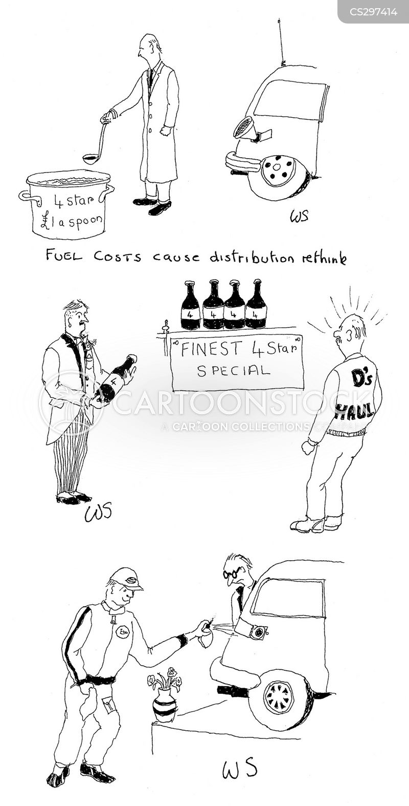high costs cartoon