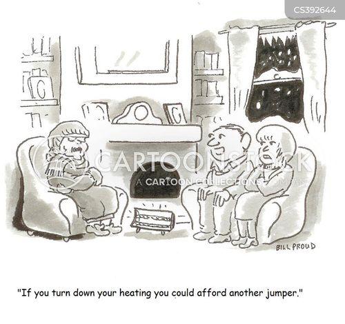 household bill cartoon
