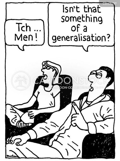 generalizations cartoon