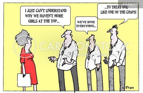 unequal cartoon