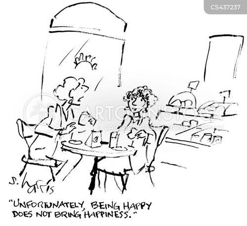 contented cartoon