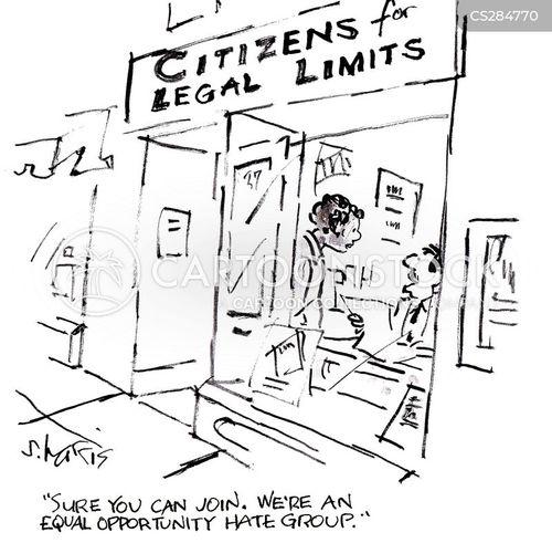 hate groups cartoon