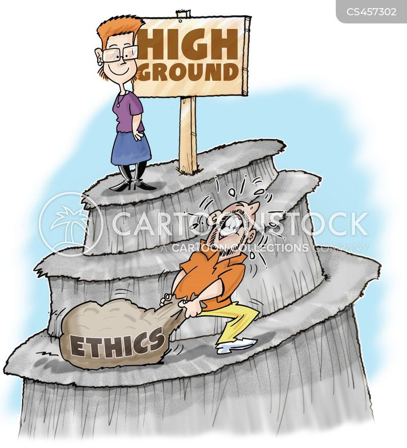 ETHICS: Who holds the moral high ground?