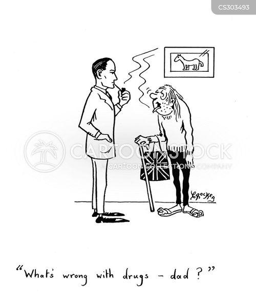 druggy cartoon