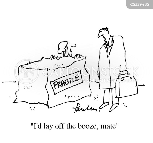 fragility cartoon