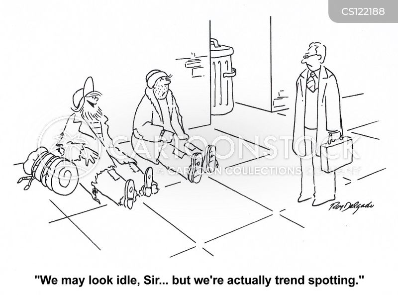 trended cartoon