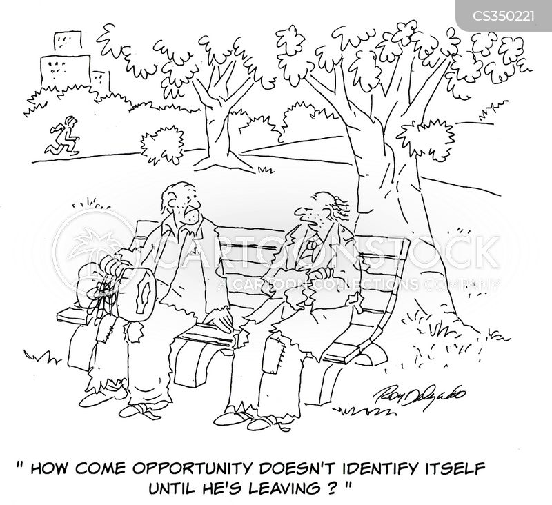 lost opportunity cartoon