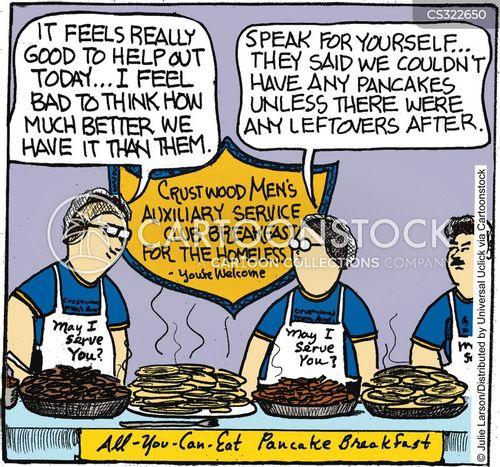 homeless shelters cartoon