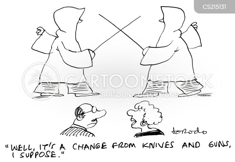 rapiers cartoon
