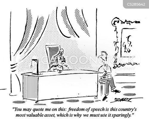 despotism cartoon