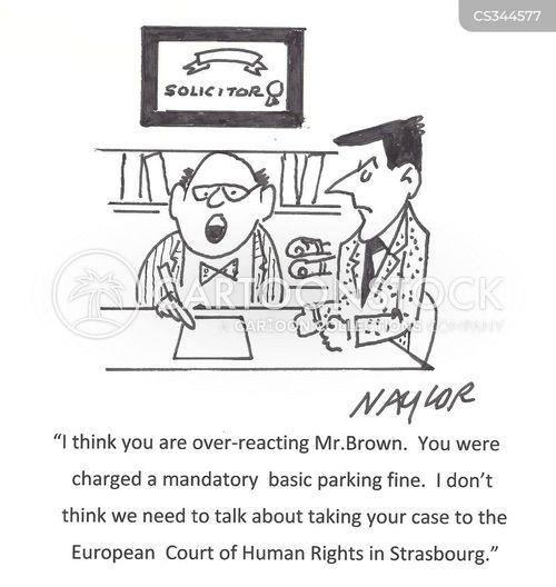 over-reacting cartoon