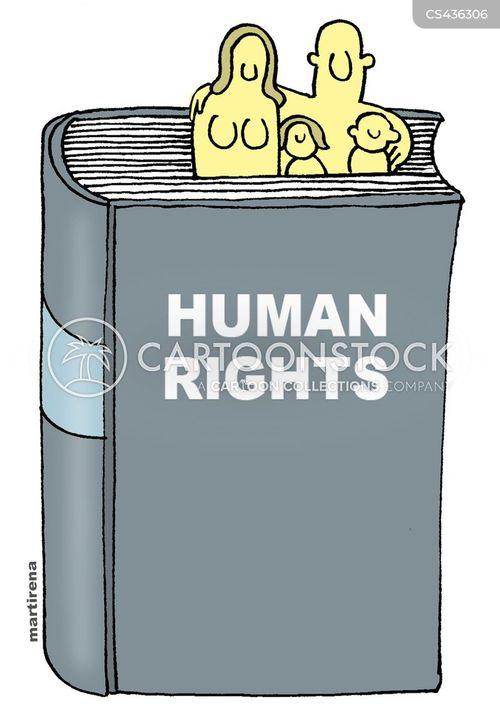 human-rights cartoon