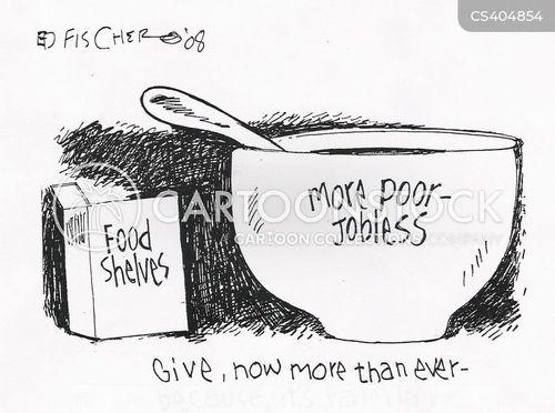 humanitarian cartoon