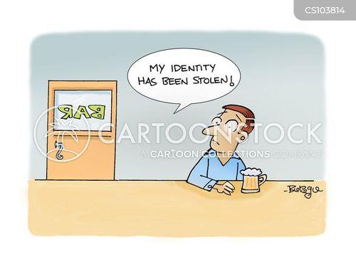 identity crimes cartoon
