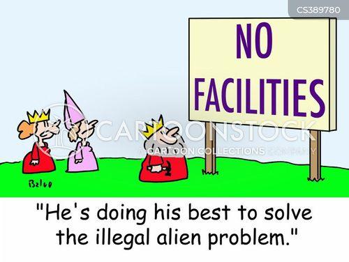 no facilities cartoon
