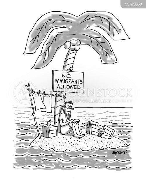 xenophobics cartoon
