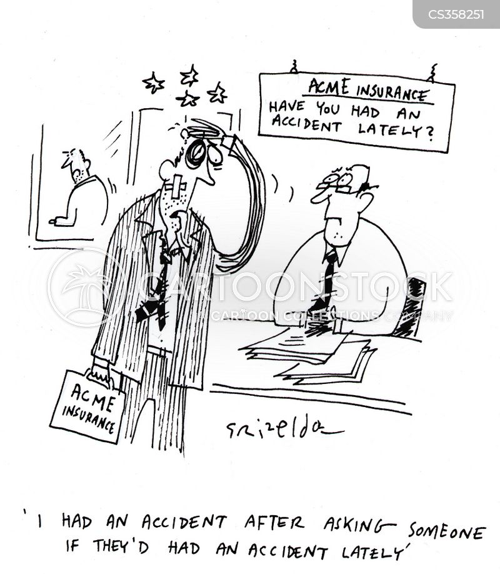 Compensation Culture Cartoons and Comics