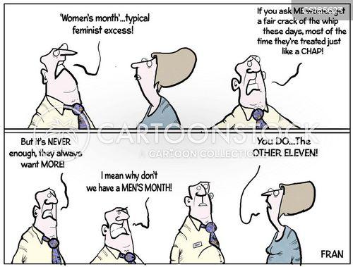 womens rights cartoon