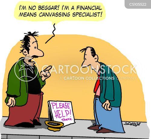 financial means cartoon