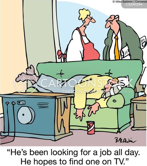 leave home cartoon