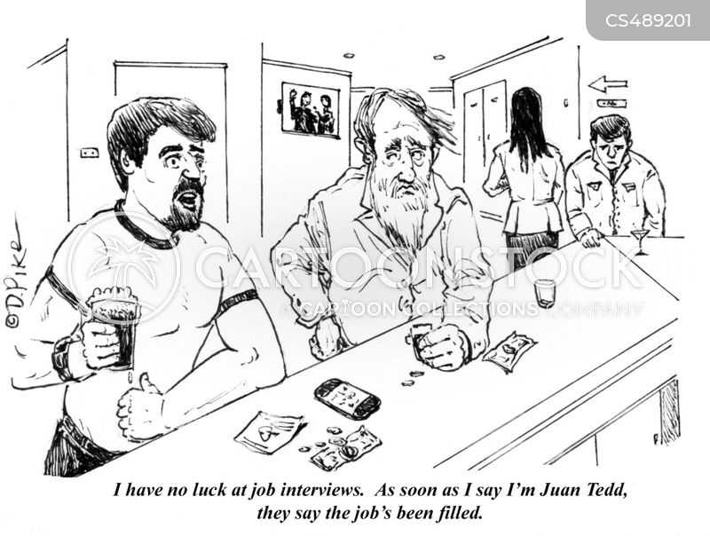 bad interviews cartoon