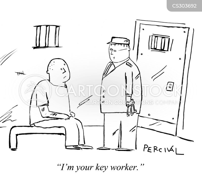 parole service cartoon
