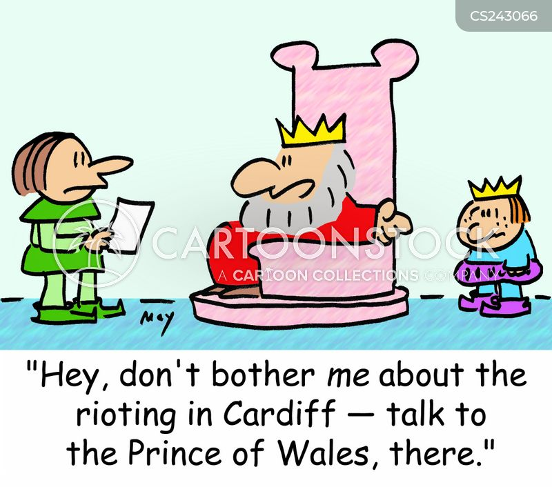 cardiff cartoon