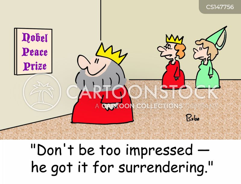 surrenders cartoon