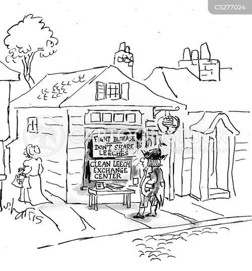 18th century cartoon