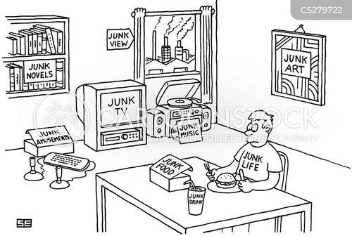 junk tv cartoon