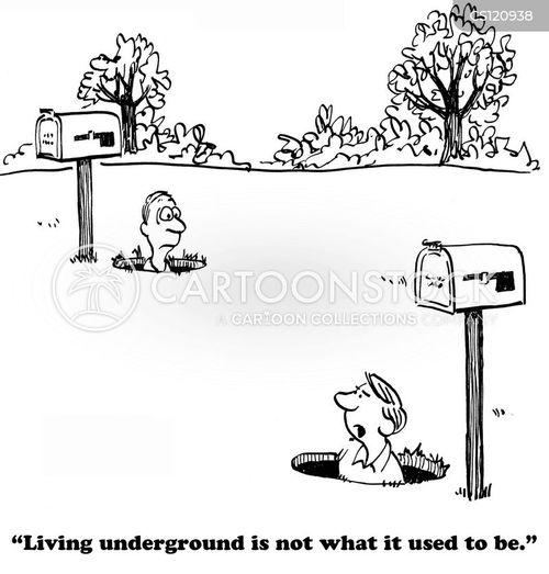 off the grid cartoon