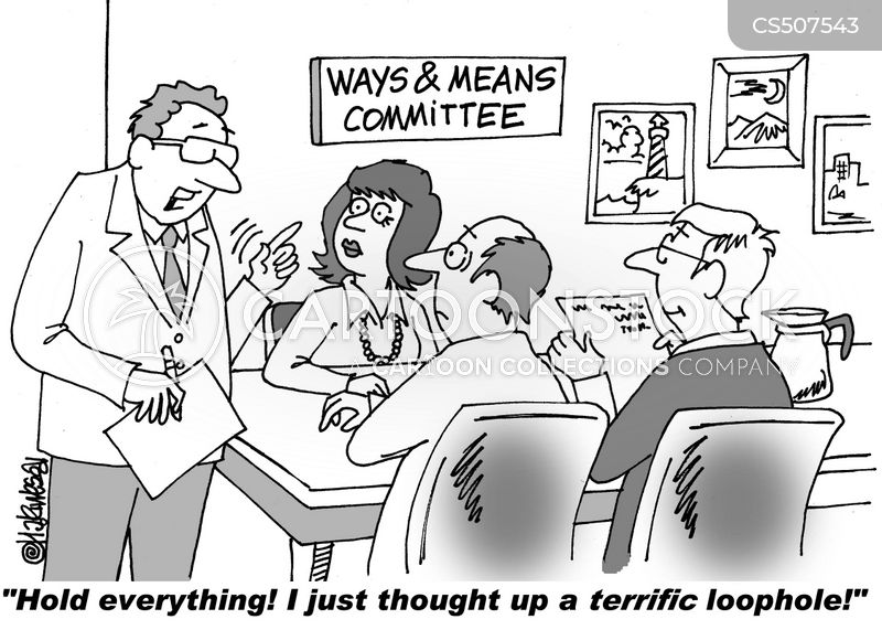 ways and means cartoon