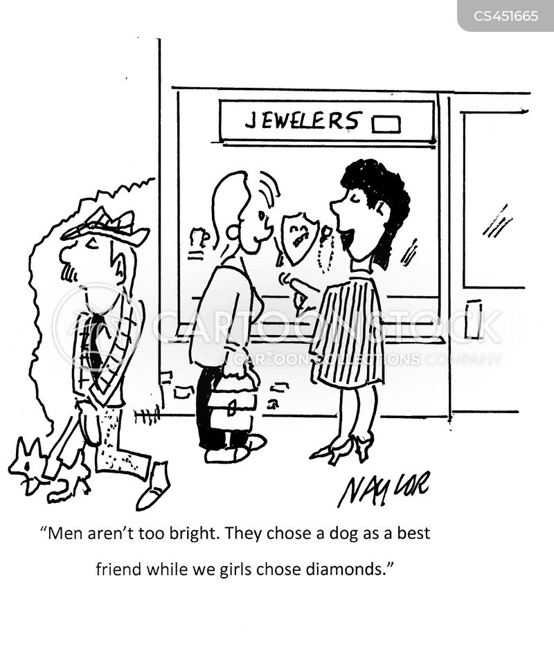 jewelers cartoon