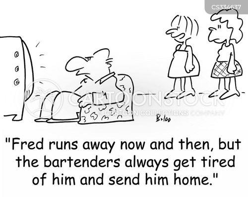 sent home cartoon