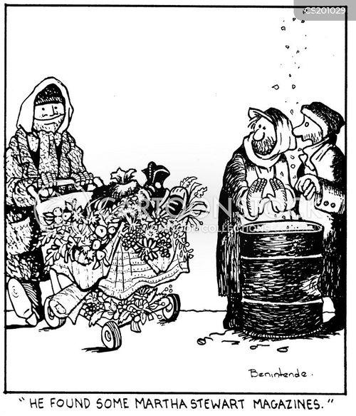 street bums cartoon