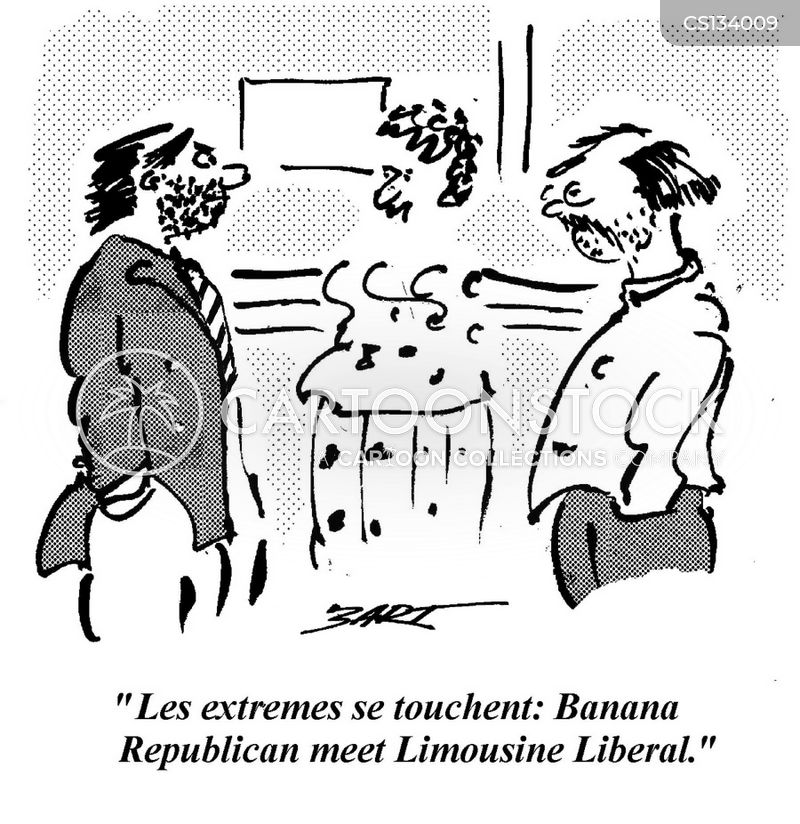 limousine liberal cartoon