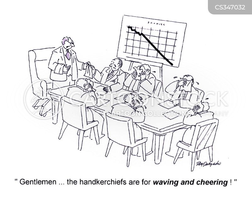 handkerchiefs cartoon