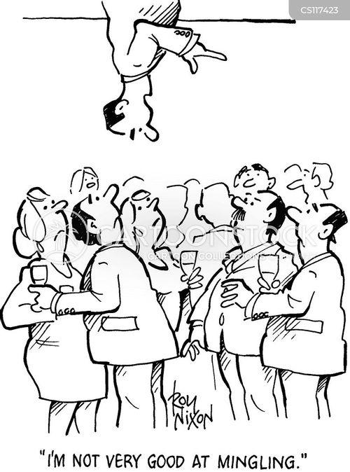 business functions cartoon