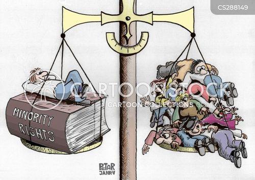 minority group cartoon