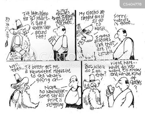 social change cartoon